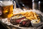 Steak and beer